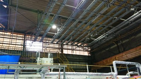 天井用吊り足場